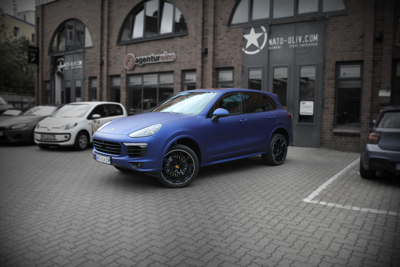 PORSCHE_CAYENNE_FOLIERUNG_MIDNIGHT_BLUE_MATT_METALLIC_TITELBILD