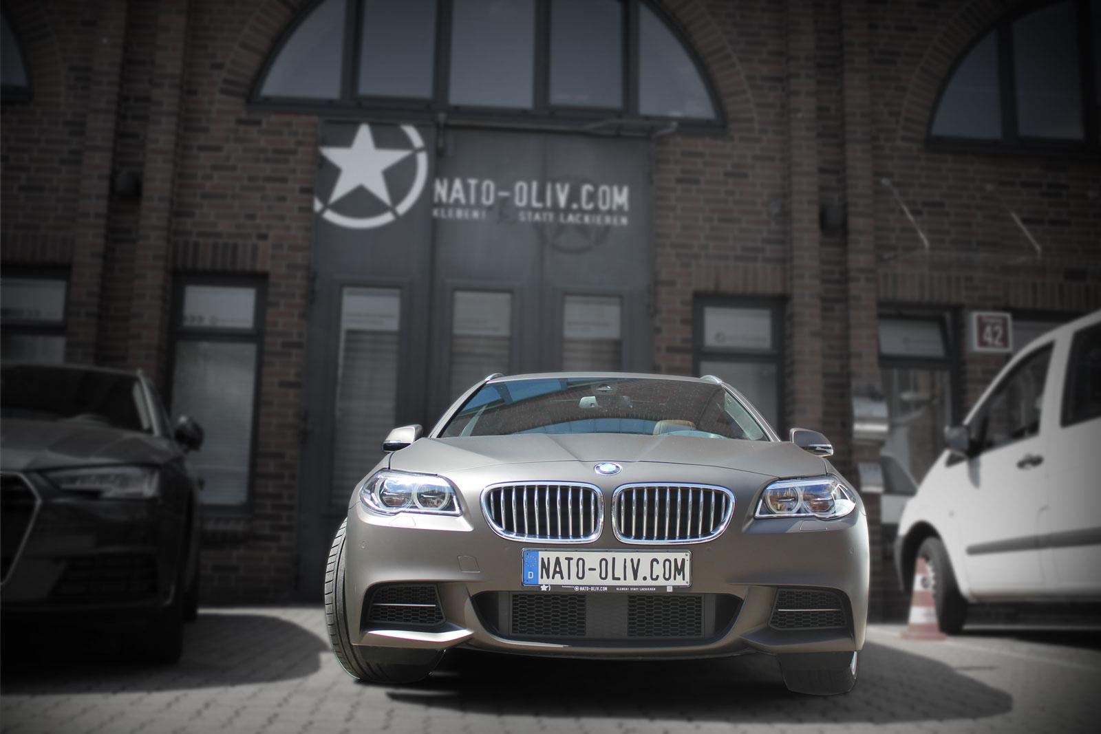 BMW-Alpina-5er-Kombi-dunkelbraun-matt-metallic