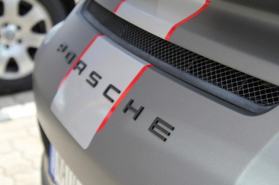 PORSCHE GT3 IN GUNMETAL MATT METALLIC