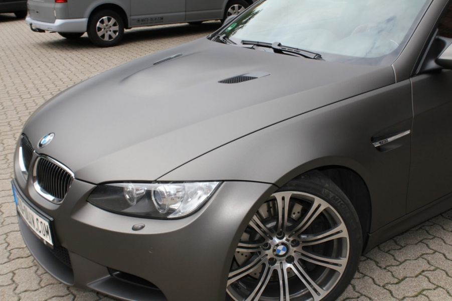 BMW M3 IN CHARCOAL MATT METALLIC
