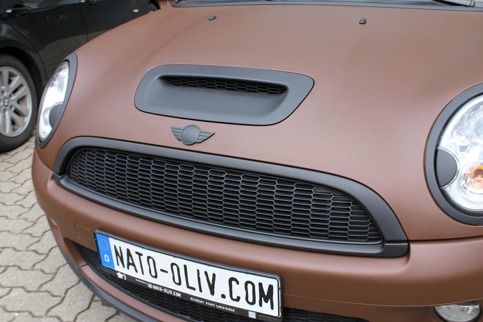 Auto Folierung Mini Cooper S Cabrio Car Wrapping