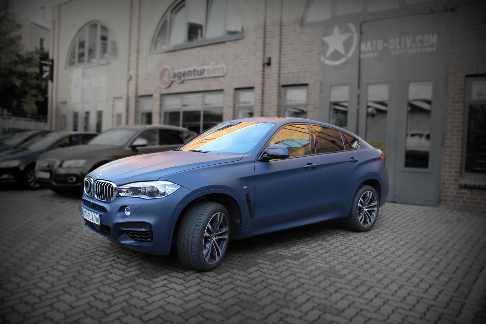 BMW_X6_CAR-WRAPPING_YACHTBLAU_MATT_Titelbild