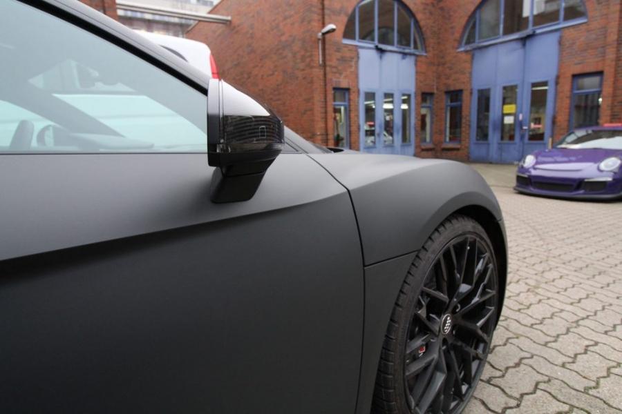 Audi R8 Premium Wrapping Anthrazit Ultra Matt Hamburg