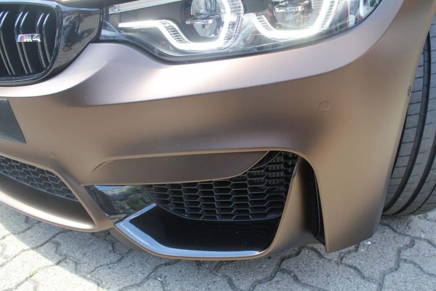 BMW M4 F82 Coupé Matte Java Brown wrap