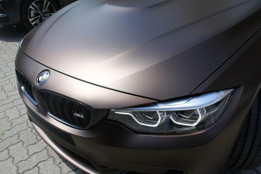 BMW M4 F82 Coupé Matte Java Brown foliert
