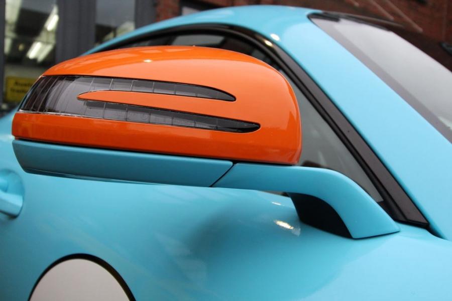 Mercedes AMG GT-R Gulf Design Premium Wrapping Hamburg