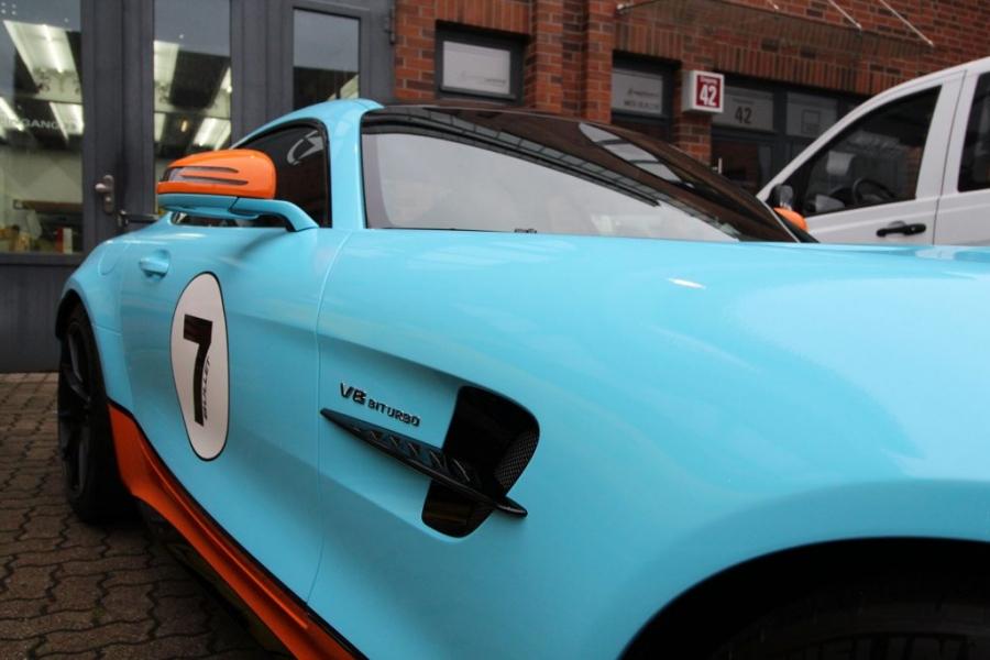 Mercedes AMG GT-R Gulf Design 3M Autofolie Hamburg