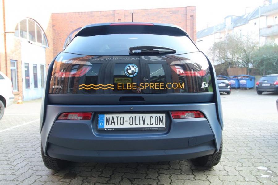 BMW i3 Premium Folierung Beschriftung Hamburg