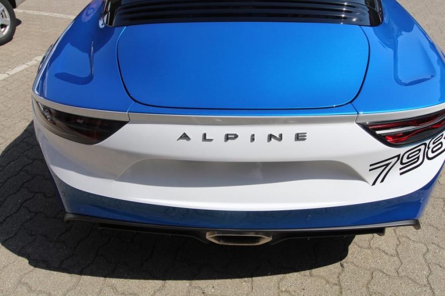 Alpine 798 Design Folierung blau weiß Hamburg