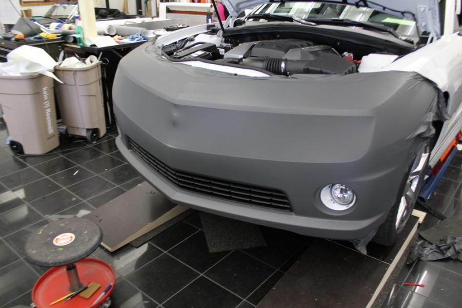 Chevrolet Camaro Premium Folierung grau matt Hamburg