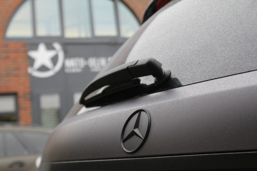 Mercedes C63 AMG grau Matt Metallic Folierung Hamburg
