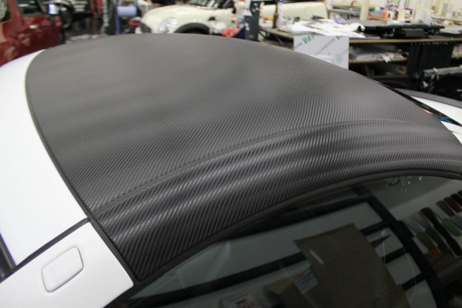 Mercedes SLK Dach in Carbon Folie Hamburg