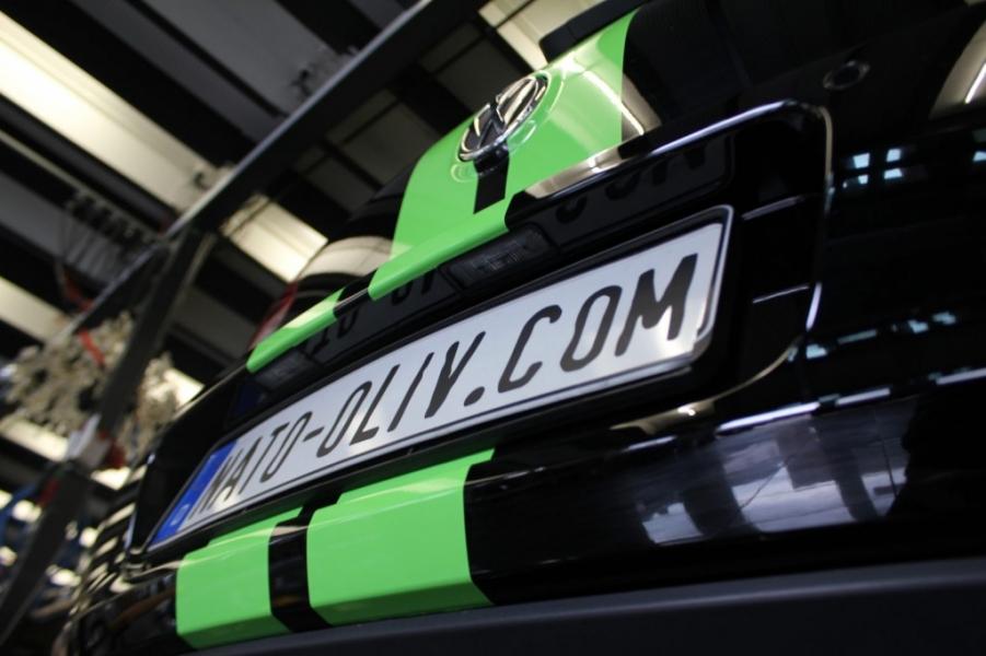 VW GOLF Rallyestreifen Nato Oliv Hamburg