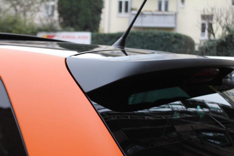 VW Polo GTI Folierung Heckspoiler