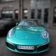 Porsche 991 Carrera Cabrio SWF Dark Green Pearl